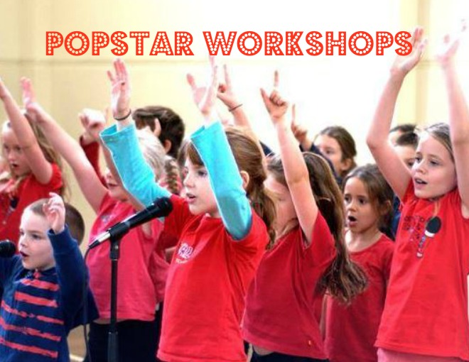 Bop Till You Drop Popstar Workshops