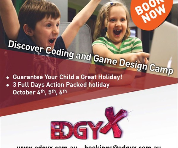 Edgy X - Discover Coding & Game Design Camp