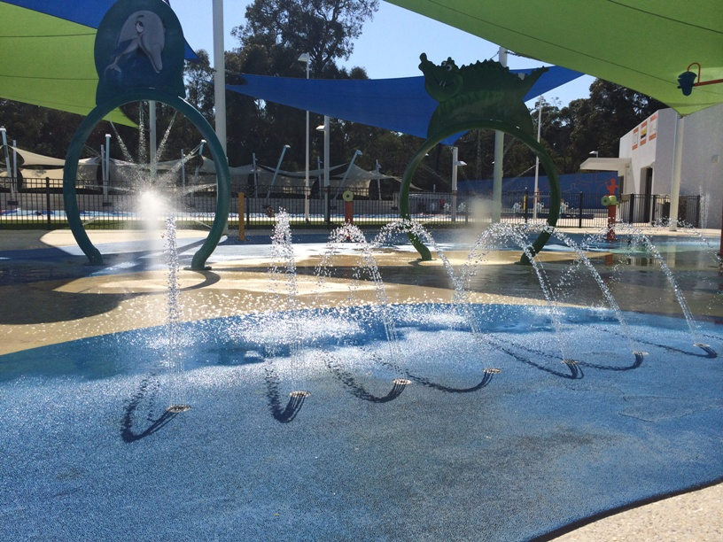 Perth water parks playgrounds - Swimming pool water features perth ...