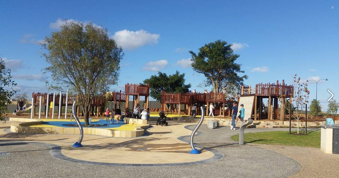 perth water parks playgrounds
