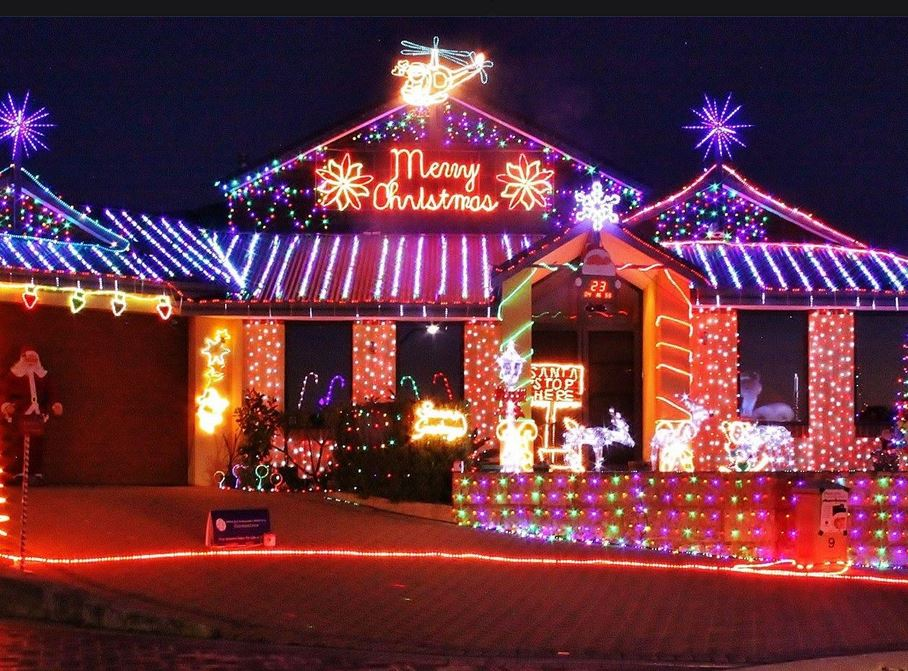 Tune in to hear and see these lights dance to the music. There is also a  fundraising event being held at these Christmas Lights too. - Top Suburbs For A Magical Night Of Christmas Lights